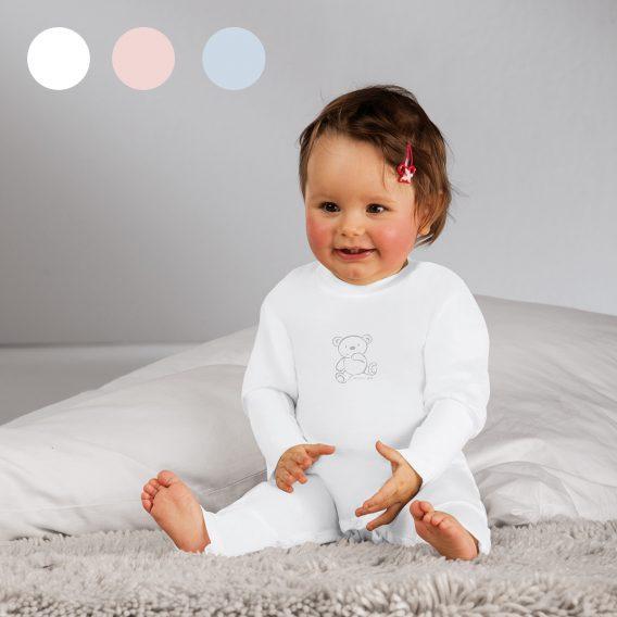 Baby Strampler bei Hautirritationen