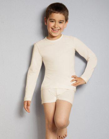 Kinder Langarmshirt bei Akne, Neurodermitis und Schuppenflechte