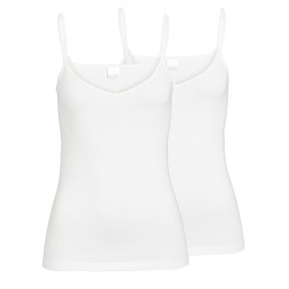 Damenshirt in Weiss