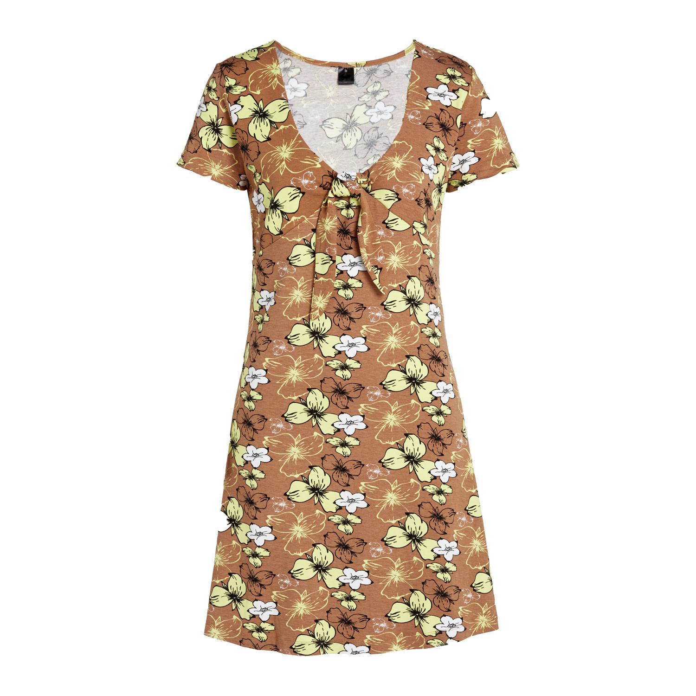 Damen Sommerkleid mit Blumenprint in Größe S und M