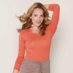 b.well Yoga Kleidung: Damen Langarm Shirt