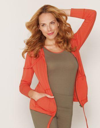 b.well Yoga Kleidung Damen Tank Top mit Paspel