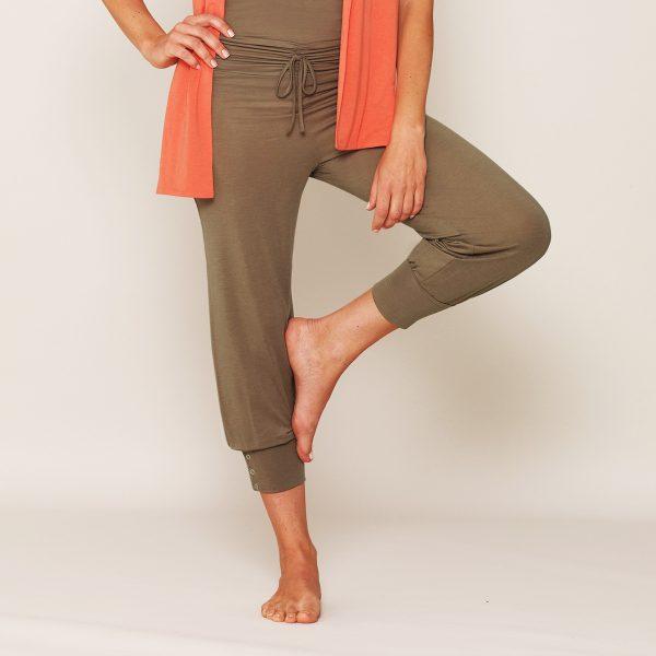 b.well Yoga Kleidung: Damen 3/4 Hose - Karl Rieker-Shop