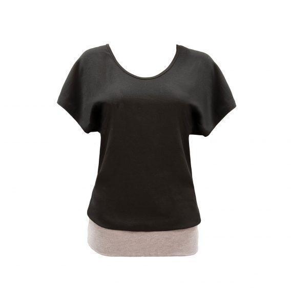 b.well Damen Yoga Kleidung: Oversize T-Shirt