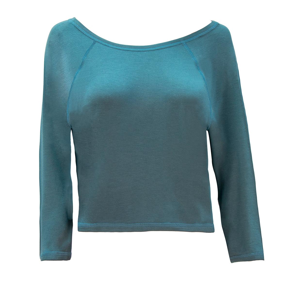 b.well Damen Yoga Kleidung: Raglan Pullover