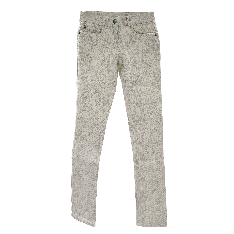 026e9bffeb Damen Stretchhose mit weiß/grauem Muster - Karl Rieker-Shop