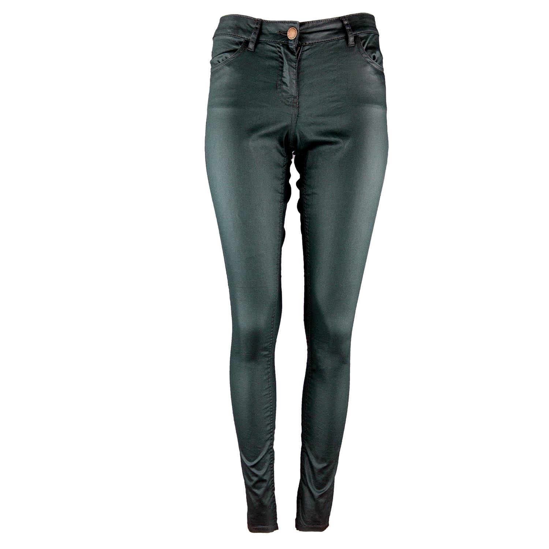Damen Stretchhose dunkelgrün