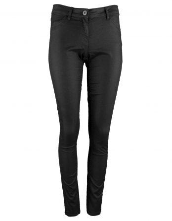 Damen Stretchhose in Schwarz