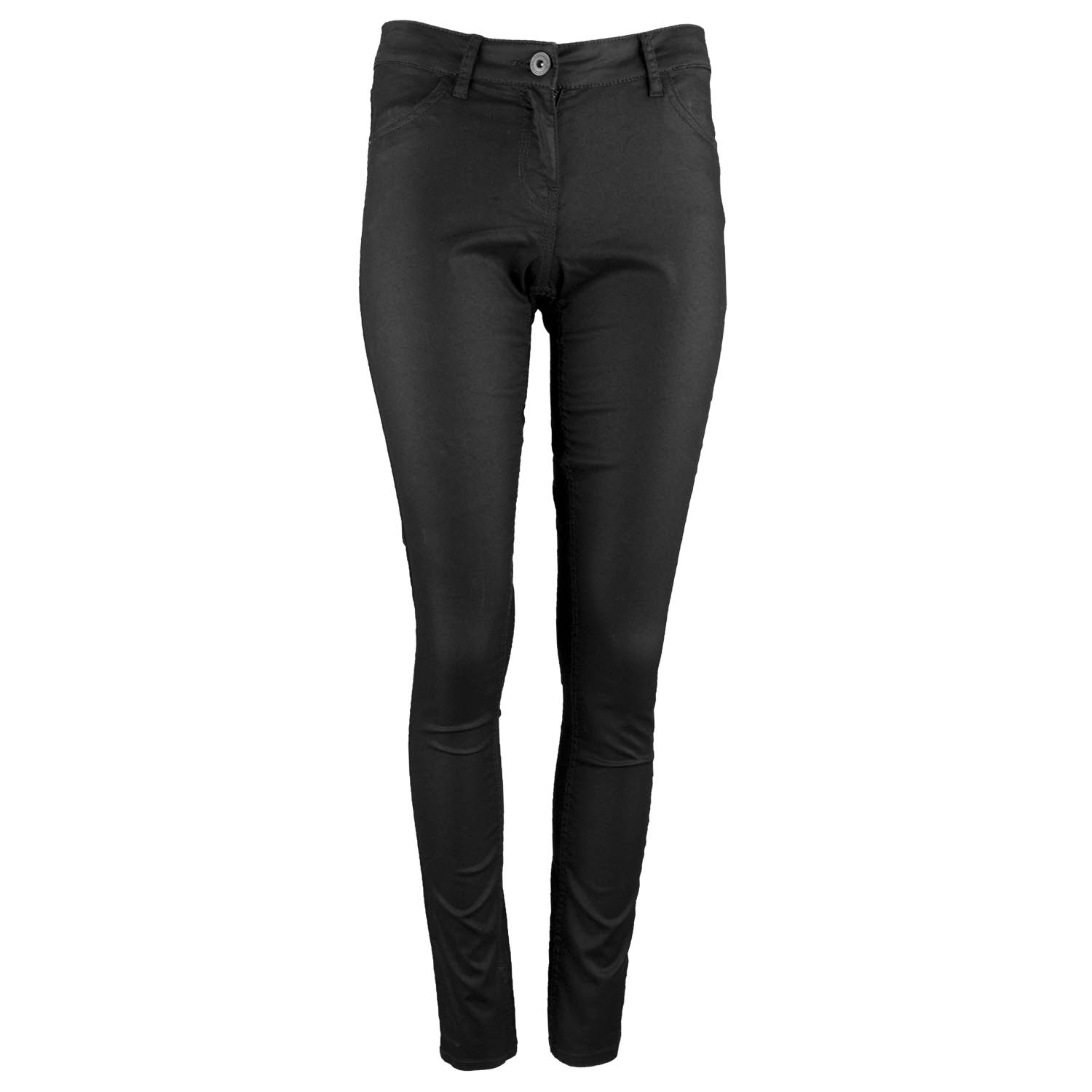 Damen Stretchhose in Schwarz