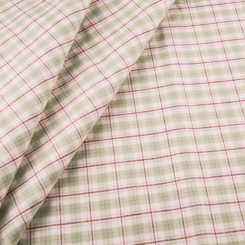 Tabby-Weave 100% Baumwolle kariert grün rot rosa 150x150 cm - Karl ...