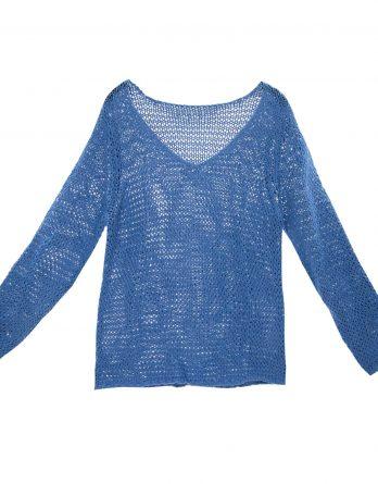 Damen Bändchengarn Sommer - Pullover