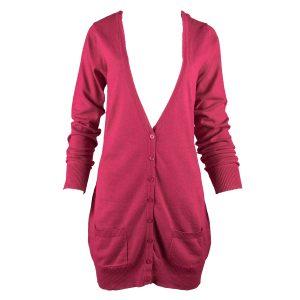 Cardigan / Strickjacke in Pink