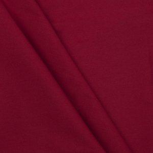 Stoff: Leinwandbindung rot Falten